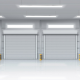 Galvalume Industrial Rolling Shutters,Doors - Earth Control Systems, Surat