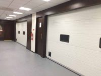 Full Vision Overhead Sectional Door - Earth Control Systems, Surat