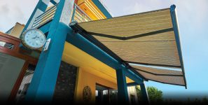 Motorized Retractable Awnings - Earth Control Systems, Surat