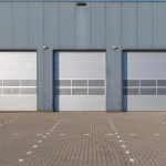 Insulated Overhead Sectional Door - Earth Control Systems, Surat